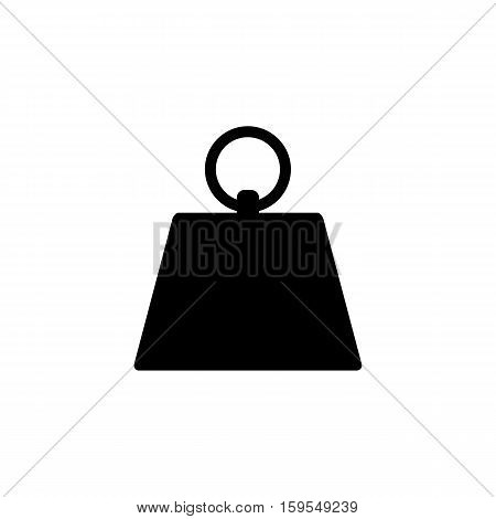 Kilogram Icon. Flat illustration isolated vector sign symbol