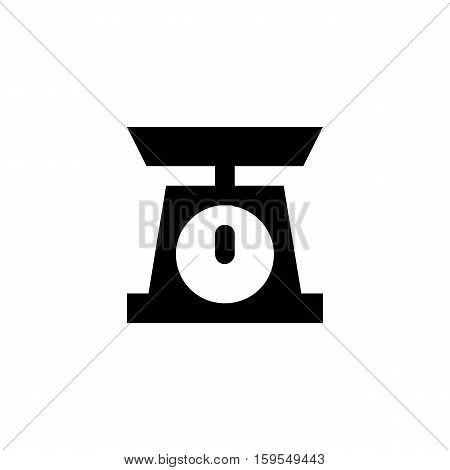Scale Icon. Flat illustration isolated vector sign symbol