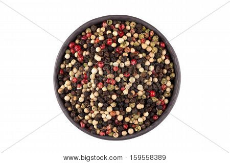 Bowl Of Various Pepper