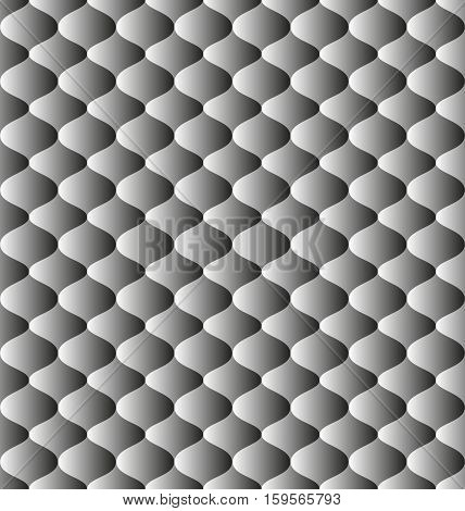seamless background with decorative pattern - vector illustration