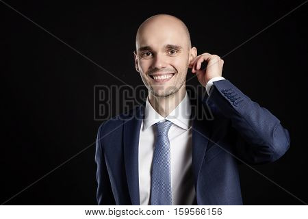 Man Improves Ear