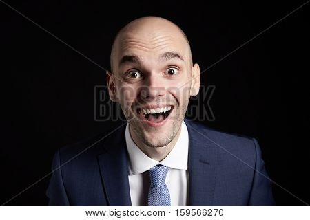Happy Man In Suit