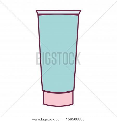 solar blocker bottle icon vector illustration design