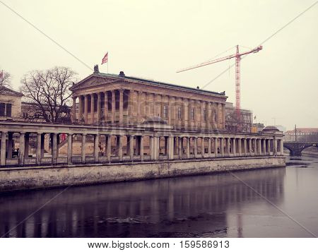The Alte Nationalgalerie, Berlin