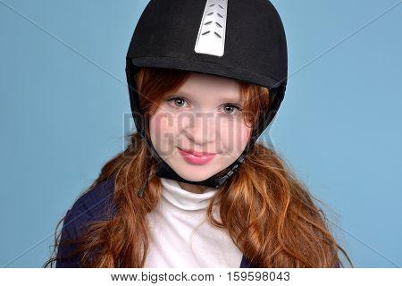 Redhead Girl Jockey