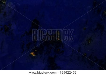 Blue Grunge Textured Wall. Copy Space. Abstract Bright Wallpaper