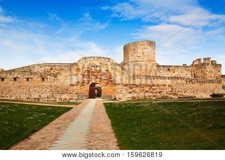 Zamora the castle El Castillo in Spain by Via de la Plata way to Santiago exterior image shot from public floor