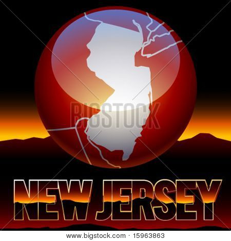 United states of america symbol of new jersey state