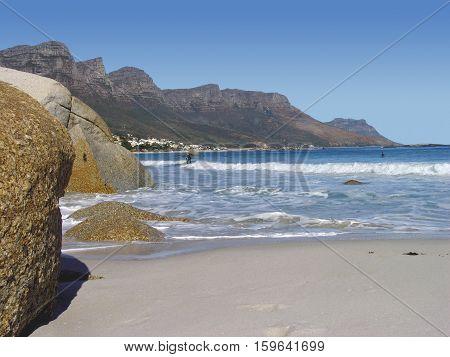 Clifton Beach, Cape Town South Africa 13sac