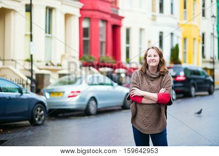 Smiling Girl In Notting Hill