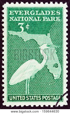 USA - CIRCA 1947: A stamp printed in USA from the