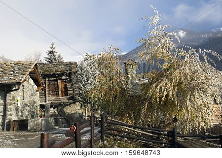 especially the village of Chamois, in Valle d'Aosta