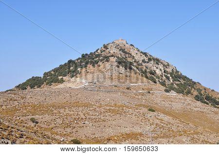 importent Ypsilu,(the oldest) monastery on island Lesbos