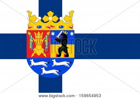 Flag of Western Finland Province of Finland