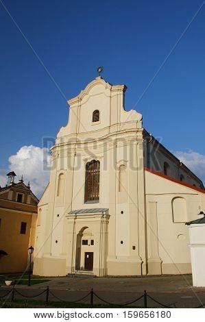 Church of St. Iosif, Bernardine monastery. Belarus, Minsk