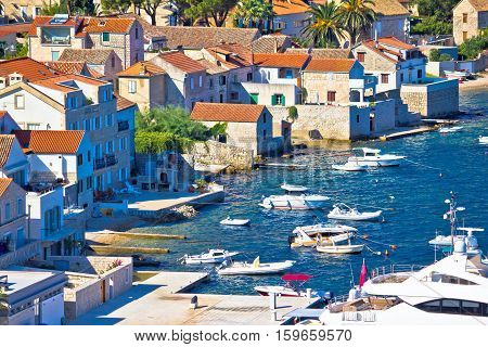 Island Of Vis Pictoresque Village Coast View