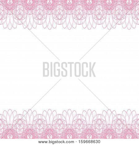 Endless Abstract Background Border Frame