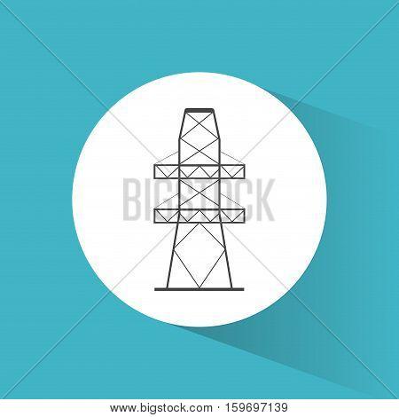 high voltage power electricity symbol vector illustration eps 10