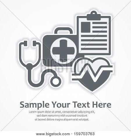 Medicine Diagnosis Symbols
