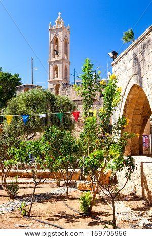 Ayia Napa Monastery.