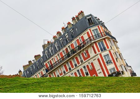 Funny Picture Of A Building On Montmartre Hill