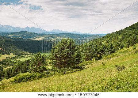 Pieniny national park and High Tatras in Slovakia