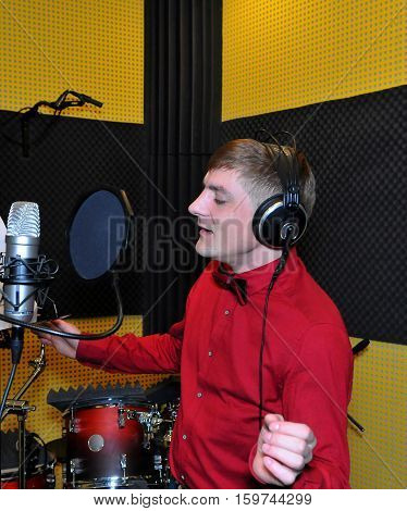 Singer, Recording Songs In The Studio
