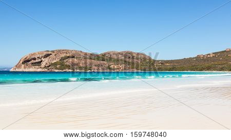 Lucky Bay in Cape Le Grand National Park near the town of Esperance, Western Australia.