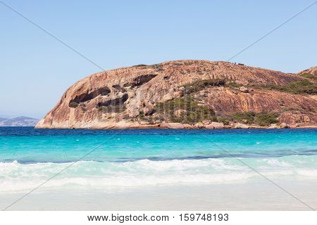 Lucky Bay in Cape Le Grand National Park near the town of Esperance Western Australia.