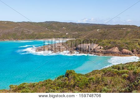 Lowlands Beach between the towns of Albany and Denmark, Western Australia.