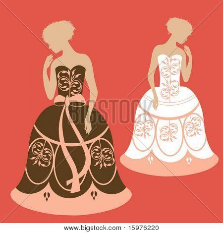 wedding prom or grad dress