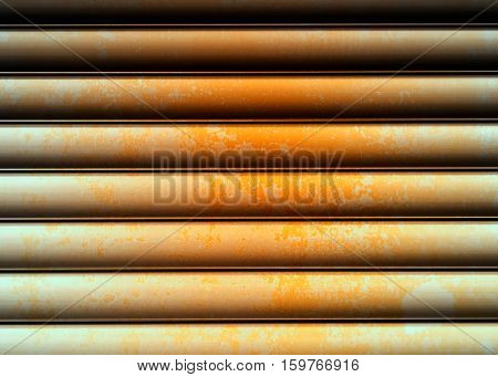 Horizontal metal rusted texture wall background hd