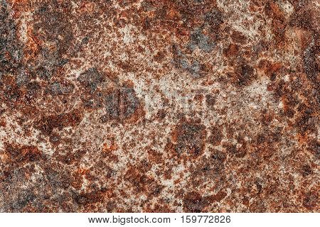 Rusty metal background- rust corrosion. Abstract textured.