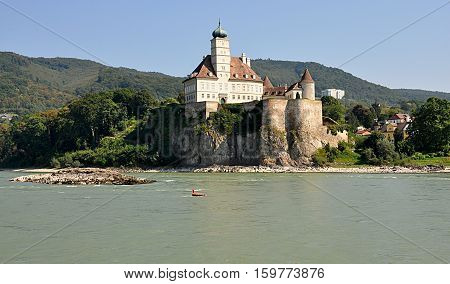 ruins of the river Danube, Wachau, Austria, Europe