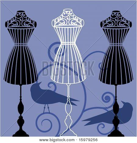 body dress form corset  mannequin
