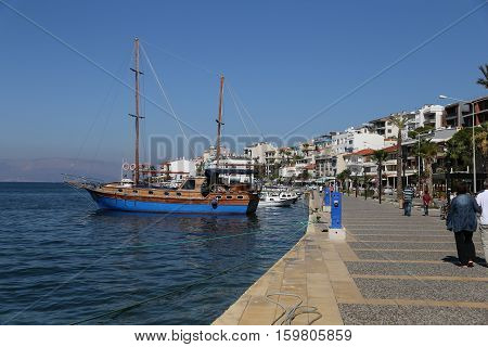 Cesme Town in Izmir City Aegean Turkey