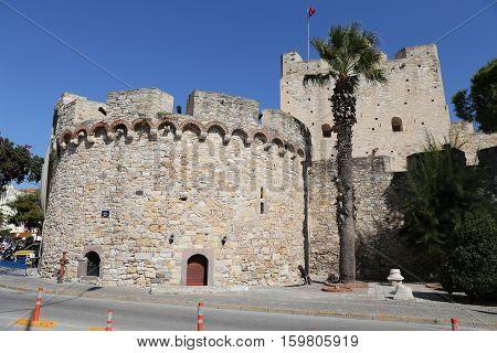 Cesme Castle In Turkey