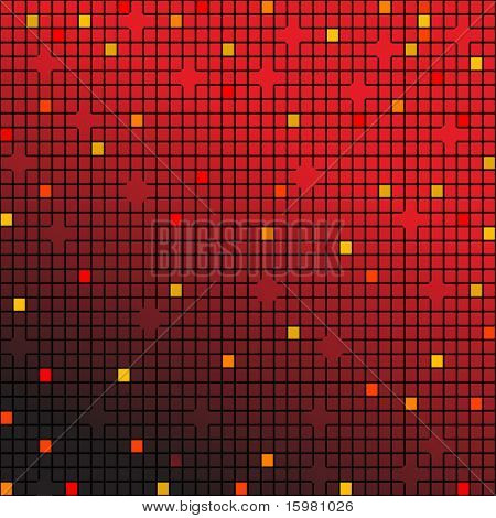 background in red