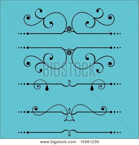 design elements banner page divider