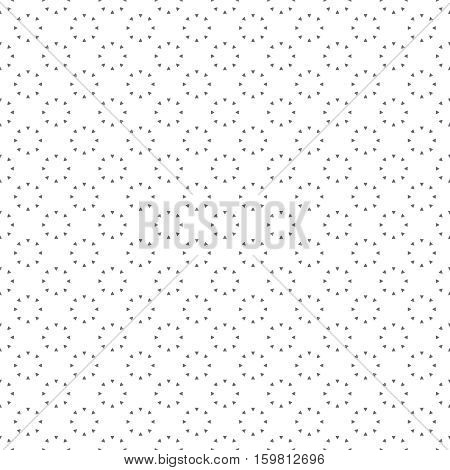 Seamless pattern. Modern simple minimal texture. Regularly repeating geometrical shapes circles triangles. Vector contemporary design
