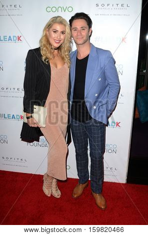 LOS ANGELES - NOV 30:  Emma Slater, Sasha Farber at the Nyle DiMarco Foundation Love & Language Kickoff Campaign 2016 at Sofitel Hotel on November 30, 2016 in Beverly Hills, CA