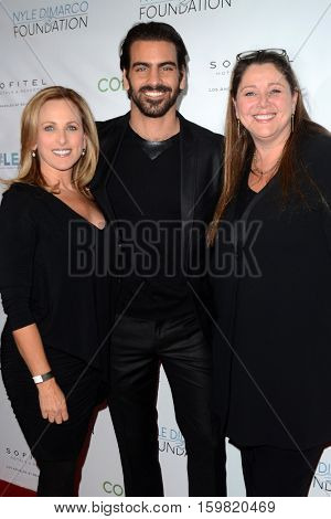 LOS ANGELES - NOV 30:  Nyle DiMarco, Marlee Matlin, Camryn Manheim at the Nyle DiMarco Foundation Love & Language Kickoff Campaign 2016 at Sofitel Hotel on November 30, 2016 in Beverly Hills, CA