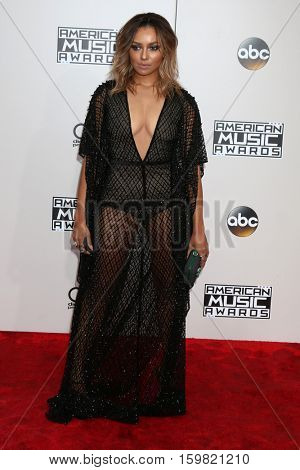 LOS ANGELES - NOV 20:  Kat Graham at the 2016 American Music Awards at Microsoft Theater on November 20, 2016 in Los Angeles, CA