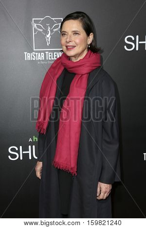 LOS ANGELES - DEC 1:  Isabella Rossellini at the Premiere Of Hulu's