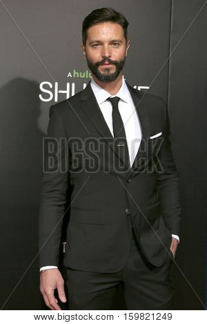 LOS ANGELES - DEC 1:  Jason Behr at the Premiere Of Hulu's