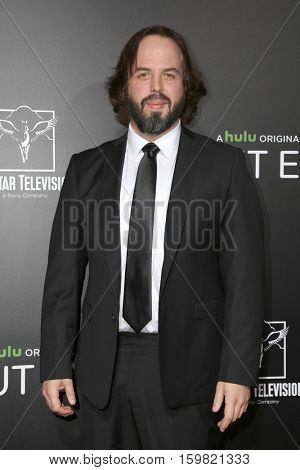 LOS ANGELES - DEC 1:  Angus Sampson at the Premiere Of Hulu's