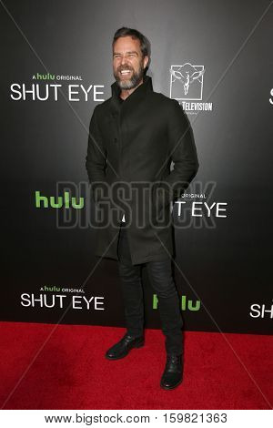 LOS ANGELES - DEC 1:  JR Bourne at the Premiere Of Hulu's