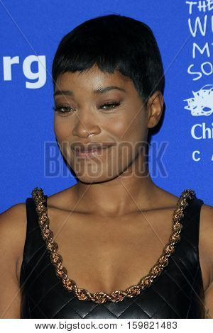 LOS ANGELES - DEC 1:  Keke Palmer at the Children's Defense Fund - 26th Beat The Odds Awards at Beverly Wilshire Hotel on December 1, 2016 in Beverly Hills, CA