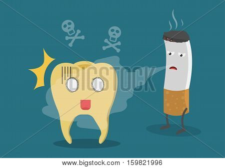 Tooth Cigarette