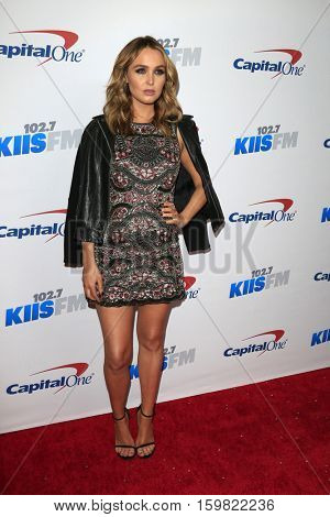 LOS ANGELES - DEC 2:  Camilla Luddington at the 102.7KIIS FM's Jingle Ball 2016 at Staples Center on December 2, 2016 in Los Angeles, CA
